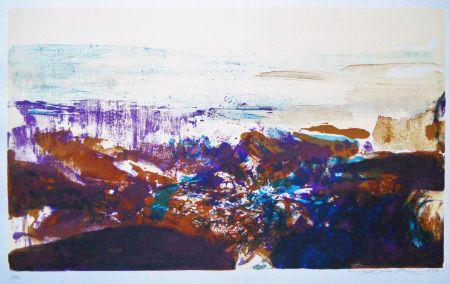 Lithograph Zao - Untitled (from: A la gloire de l'image)
