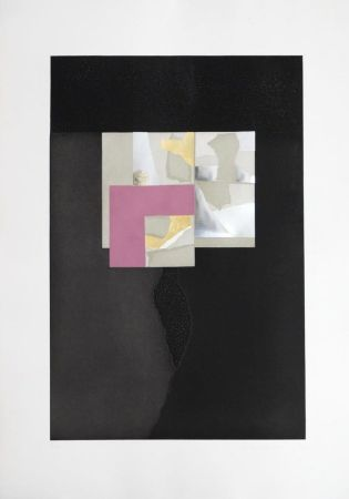 Aquatint Nevelson - Untitled from 'Aquatints' portfolio