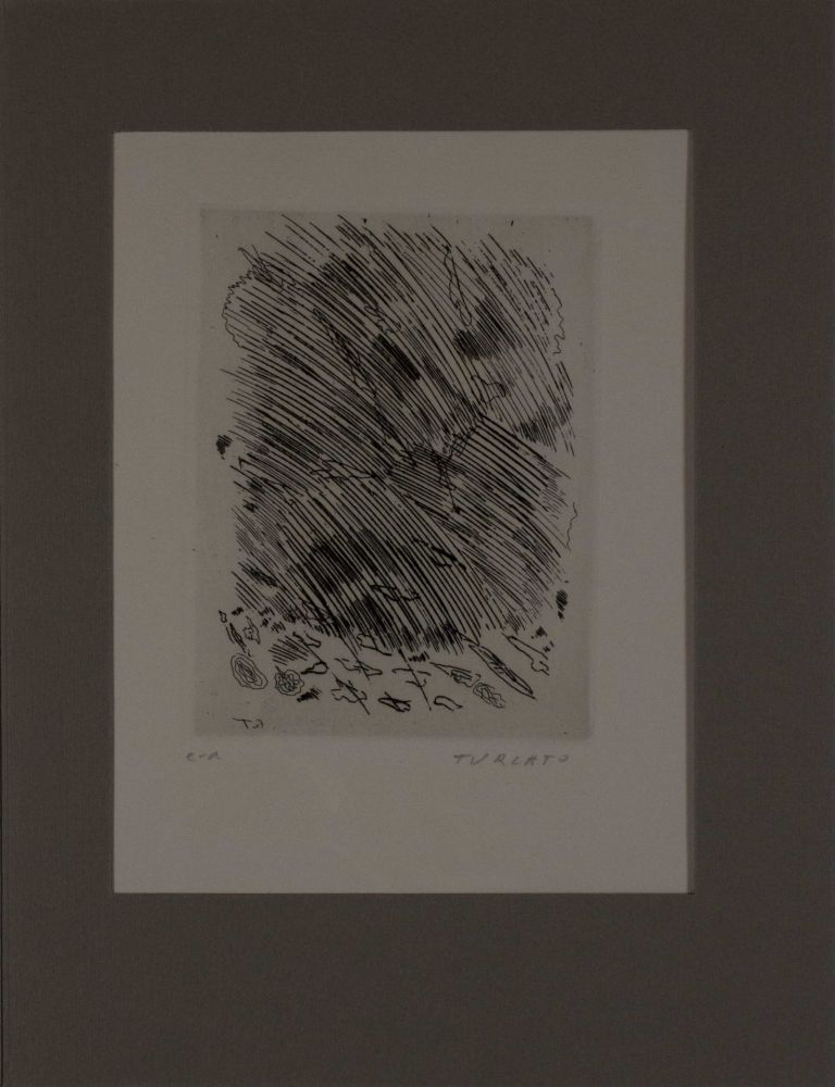 Engraving Turcato - Untitled from 'Avanguardia internazionale', vol. 4