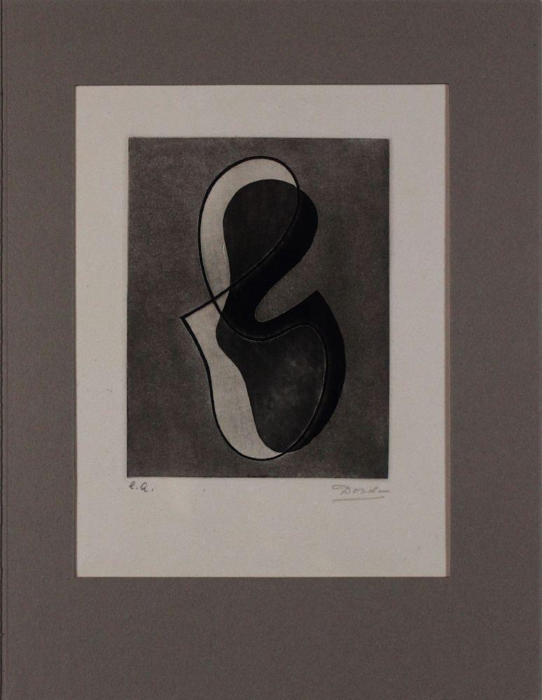 Engraving Domela - Untitled from 'Avanguardia internazionale', vol. 4