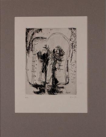 Engraving Nieto - Untitled from 'Avanguardia internazionale', vol. 4