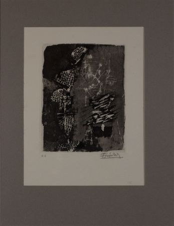 Engraving Friedlaender - Untitled from 'Avanguardia internazionale', vol. 4