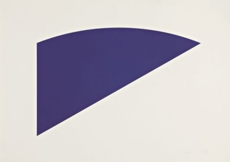 Lithograph Kelly - Untitled, from Eight by Eight to Celebrate the Temporary Contemporary