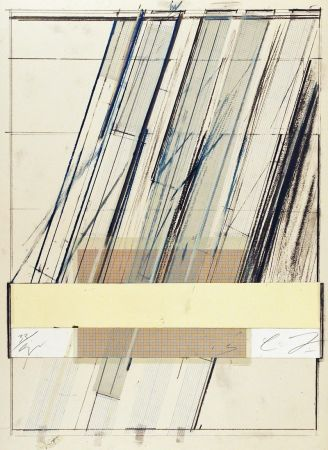 Lithograph Twombly - Untitled (from Hommage a Picasso)