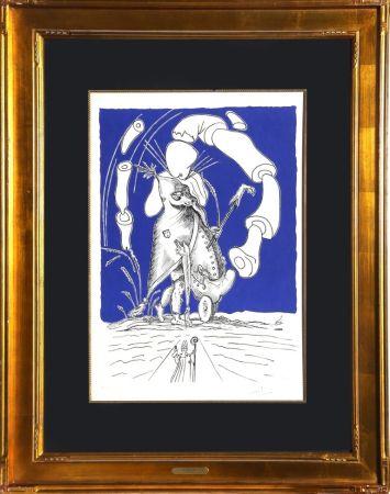 Lithograph Dali - Untitled from Les Songes Drolatiques de Panatagruel