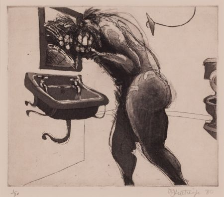 Etching And Aquatint Kentridge - Untitled, from the