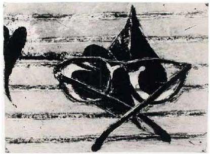 Lithograph Diebenkorn - Untitled (Gemini 1452), 1990