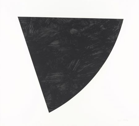 Lithograph Kelly - Untitled (Gray)