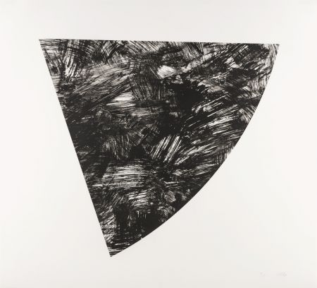Lithograph Kelly - Untitled (Gray state I)