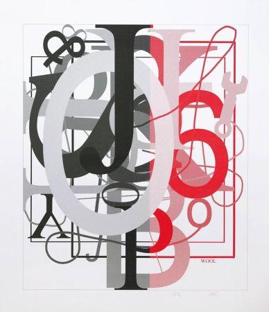 Screenprint Wool - Untitled I