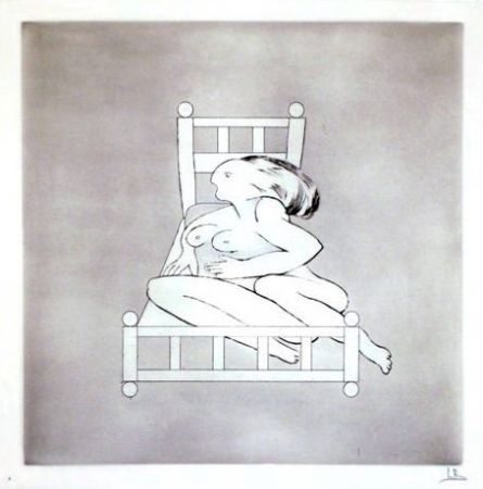 Etching Bourgeois - Untitled II