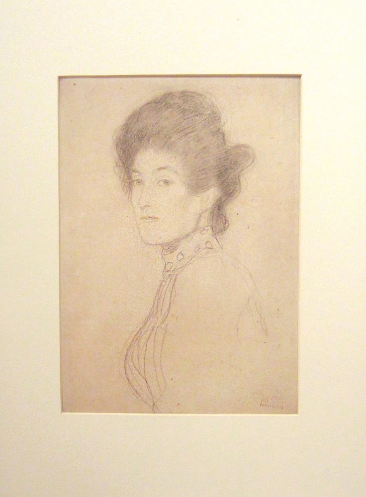 Lithograph Klimt - Untitled I.I