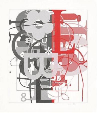 Screenprint Wool - Untitled II