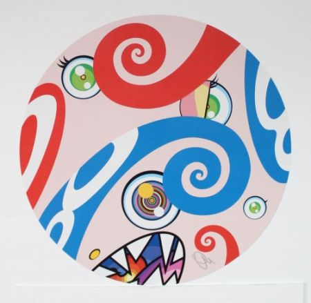 Lithograph Murakami - Untitled III from We Are the Jocular Clan,