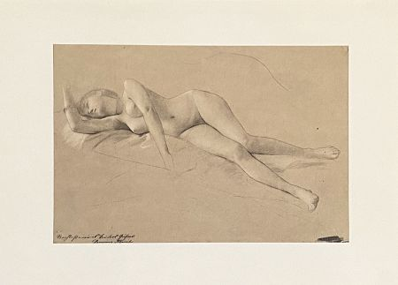Lithograph Klimt - Untitled II.XIII