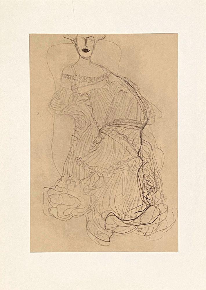 Lithograph Klimt - Untitled II.XIV