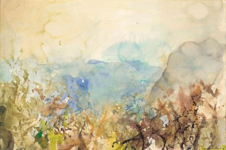 No Technical Zao - Untitled Landscape 1985