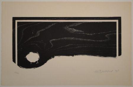 Woodcut Bosshard - Untitled (Palette)