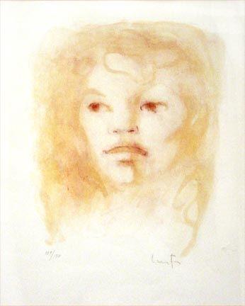 Lithograph Fini - Untitled Portrait