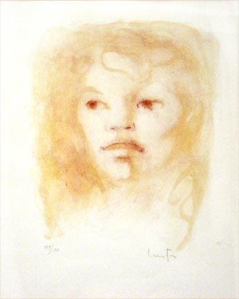 Lithograph Fini - Untitled Portrait