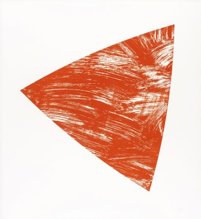 Lithograph Kelly - Untitled (Red State I)