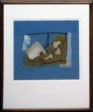 Etching Motherwell - Untitled (State 1)