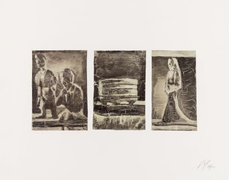 Offset Tuymans - Untitled (Triptych)