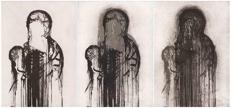 Etching Plensa - Untitled (Triptych)