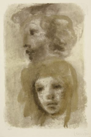 Lithograph Fini - Untitled (two portraits)