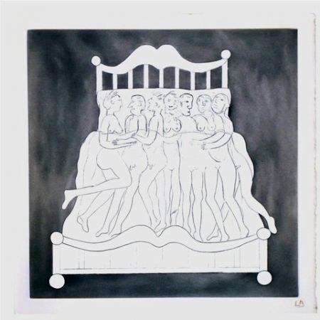 Etching Bourgeois - Untitled V