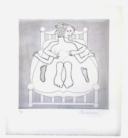 Etching Bourgeois - Untitled VII