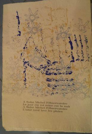 Lithograph Arman - UNTITLEDRITOURNELLE pour SAINT MICHEL L'OBSERVATOIR