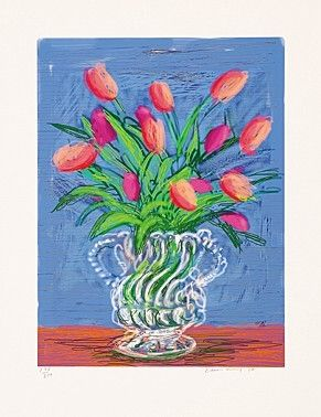 Illustrated Book Hockney - Untitles 346 in