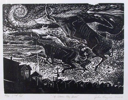 Woodcut Biggers - Up above my head