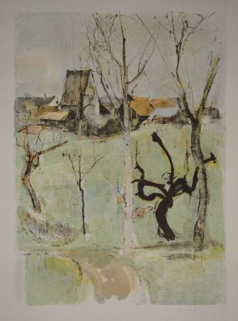 Lithograph Falk - Urdorf