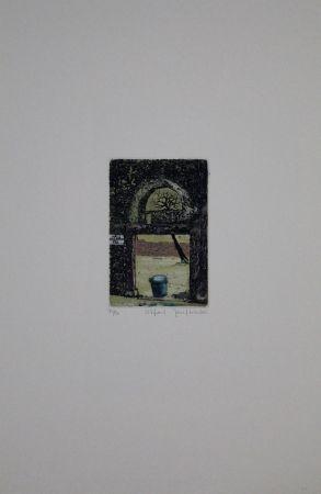 Etching And Aquatint Schibli - Utfart / Exit