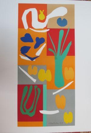 Lithograph Matisse - Végétaux