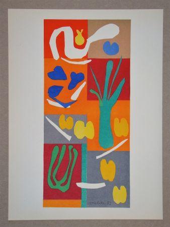 Lithograph Matisse (After) - Végétaux - 1952