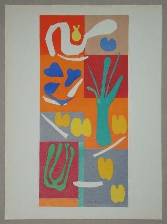 Lithograph Matisse - Végétaux, 1952