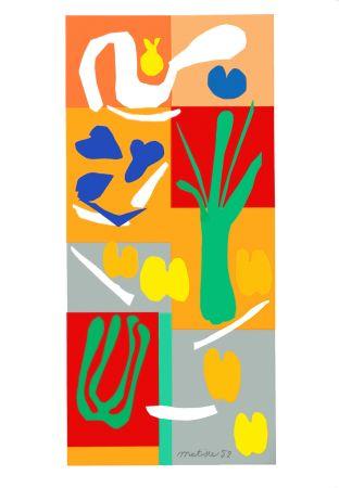 Lithograph Matisse - Végétaux (Vegetables)