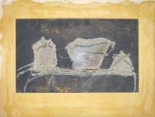 Etching Tàpies - Vaisselle