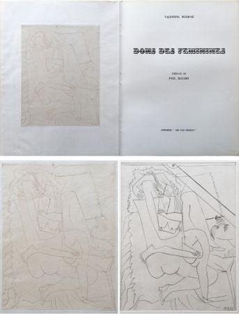 Illustrated Book Picasso - Valentine Penrose : DONS DES FÉMINIES (1951). 1 des 50 avec une eau-forte en 2 états.