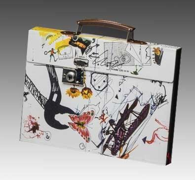 Illustrated Book Tinguely - Valise Méta Matic