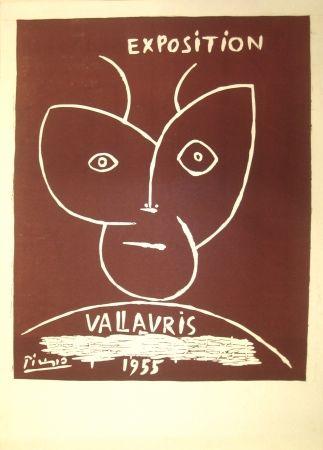 Linocut Picasso - Vallauris Exhibition