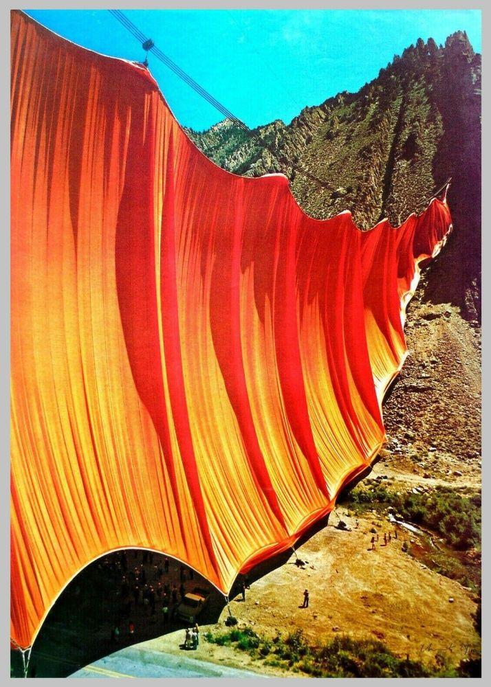 Offset Christo - Valley curtain, Rifle - Colorado 2-4