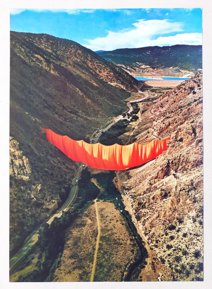 Offset Christo - Valley curtain, Rifle - Colorado 4-4