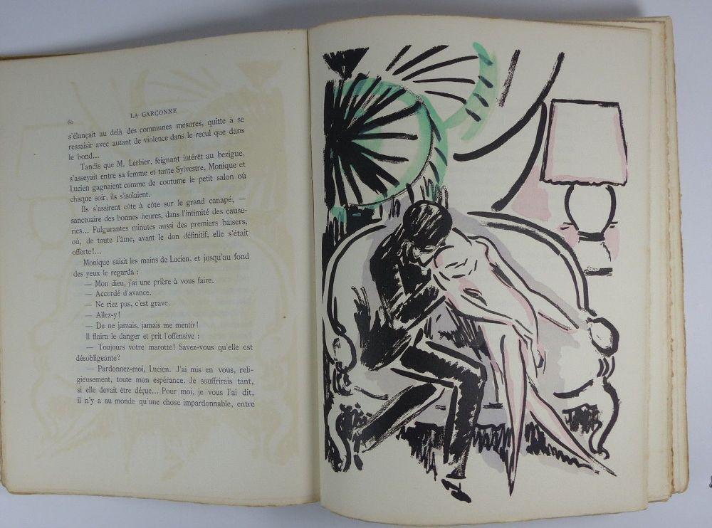 Illustrated Book Van Dongen - [Van Dongen] Victor Margueritte. La Garçonne. Ex. sur Hollande