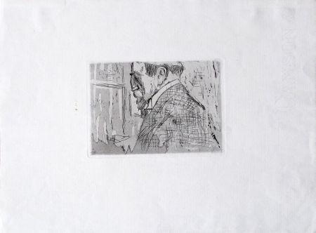 Etching Vuillard  - Van Rysselberghe