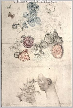 Engraving Anderlê - Vanitas II (1983)