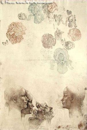 Engraving Anderlê - Vanitas IV (1983)